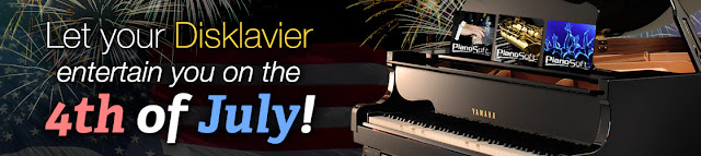 Yamaha Disklavier 4th of July