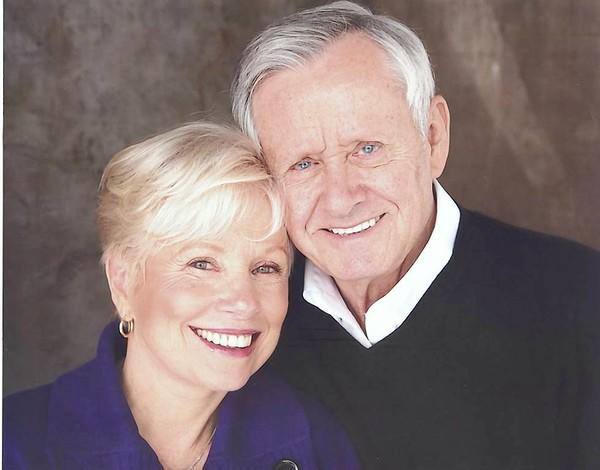 Roger Perry today with wife actress Joyce Perry (a.k.a Joyce Bullifant)