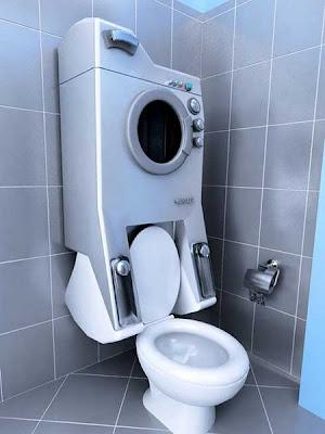 Retrete - lavadora