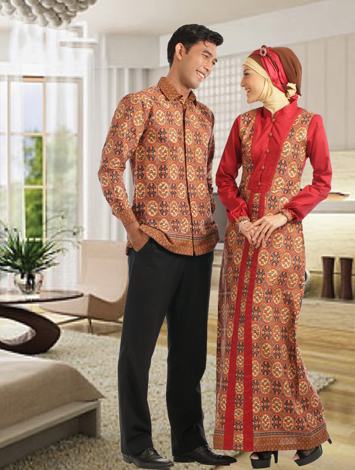 Trend Model Baju Batik Lebaran Terbaru 2015 Terbaru 2016