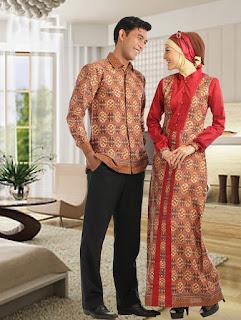 Trend Model Baju Batik Lebaran Terbaru 2015