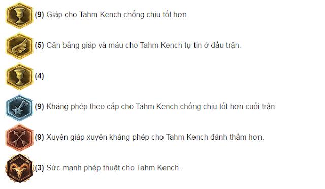 Bảng ngọc Tahm Kench đi Mid