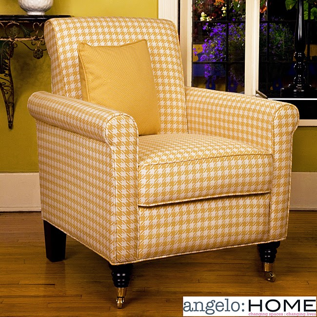 http://www.overstock.com/Home-Garden/angelo-HOME-Harlow-Arm-Chair-Yellow-and-White-Check/4155060/product.html