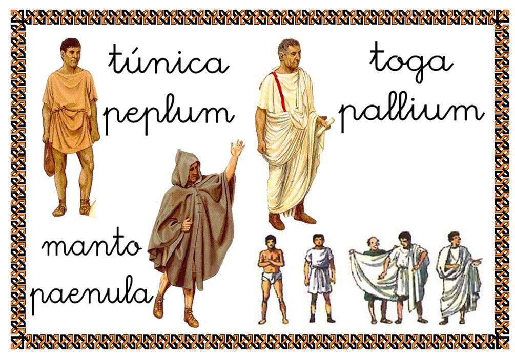 peques: ¡¡ cÓmo se vestÍan los romanos¡¡