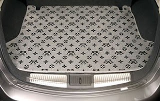 Carpete clássico sob medida para automóvel