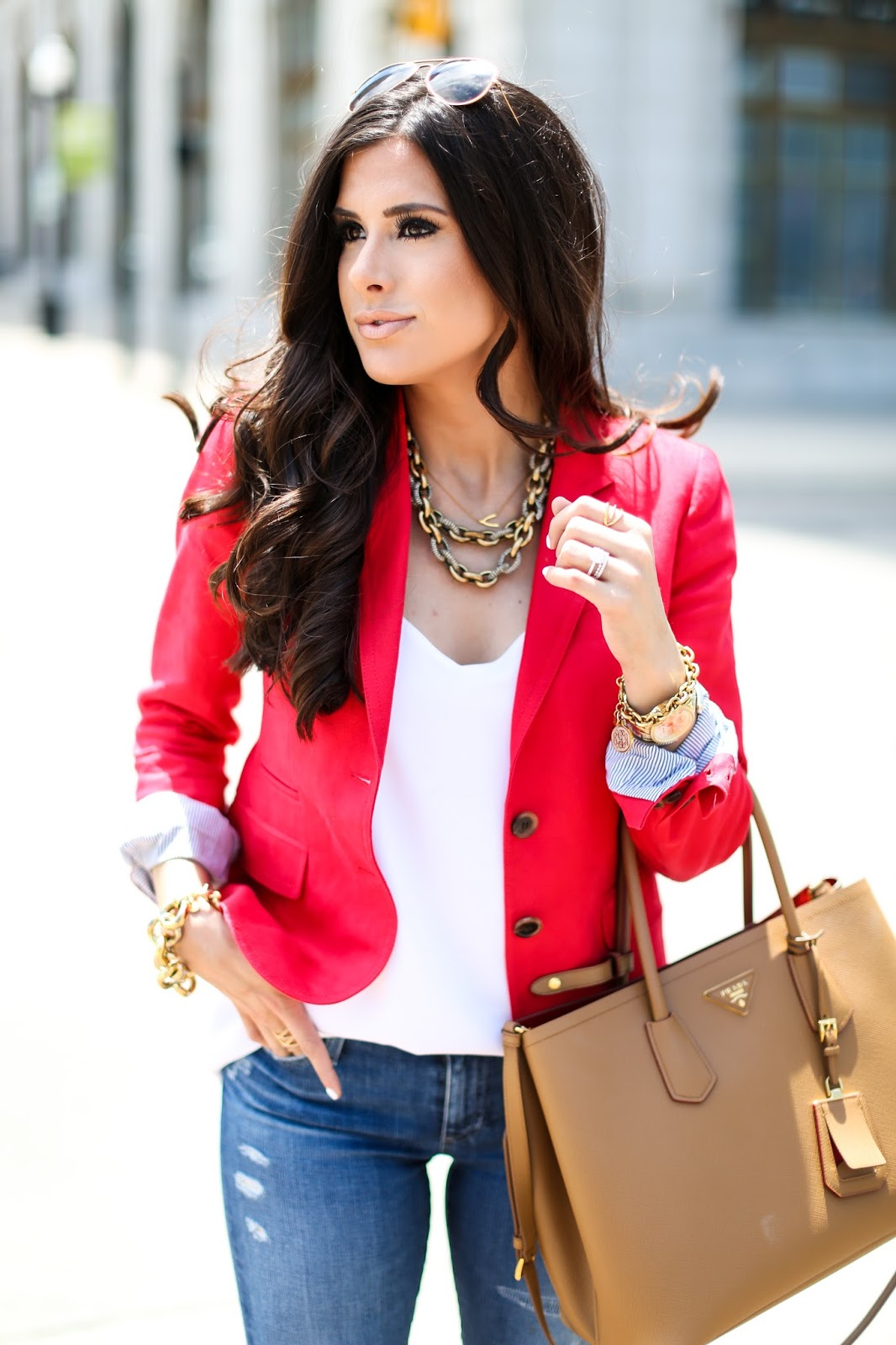 Fashion week How to blazer a red wear pinterest for lady