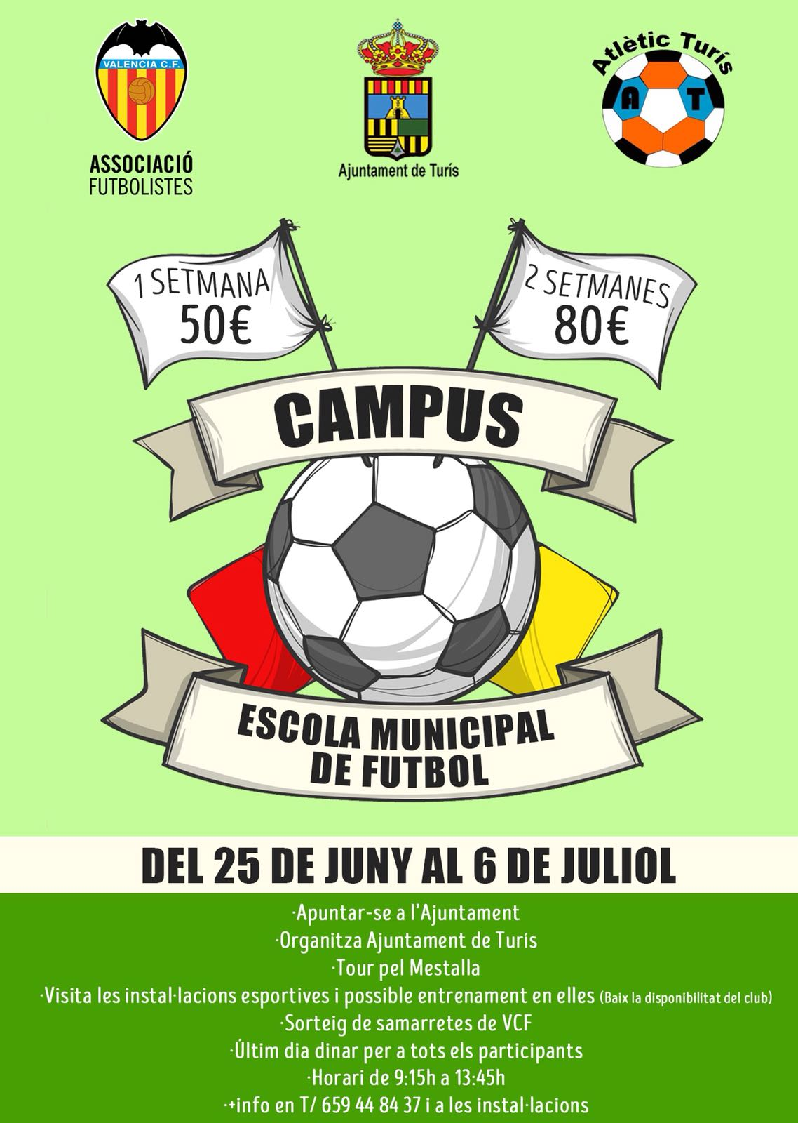 Inscripcions campus futbol
