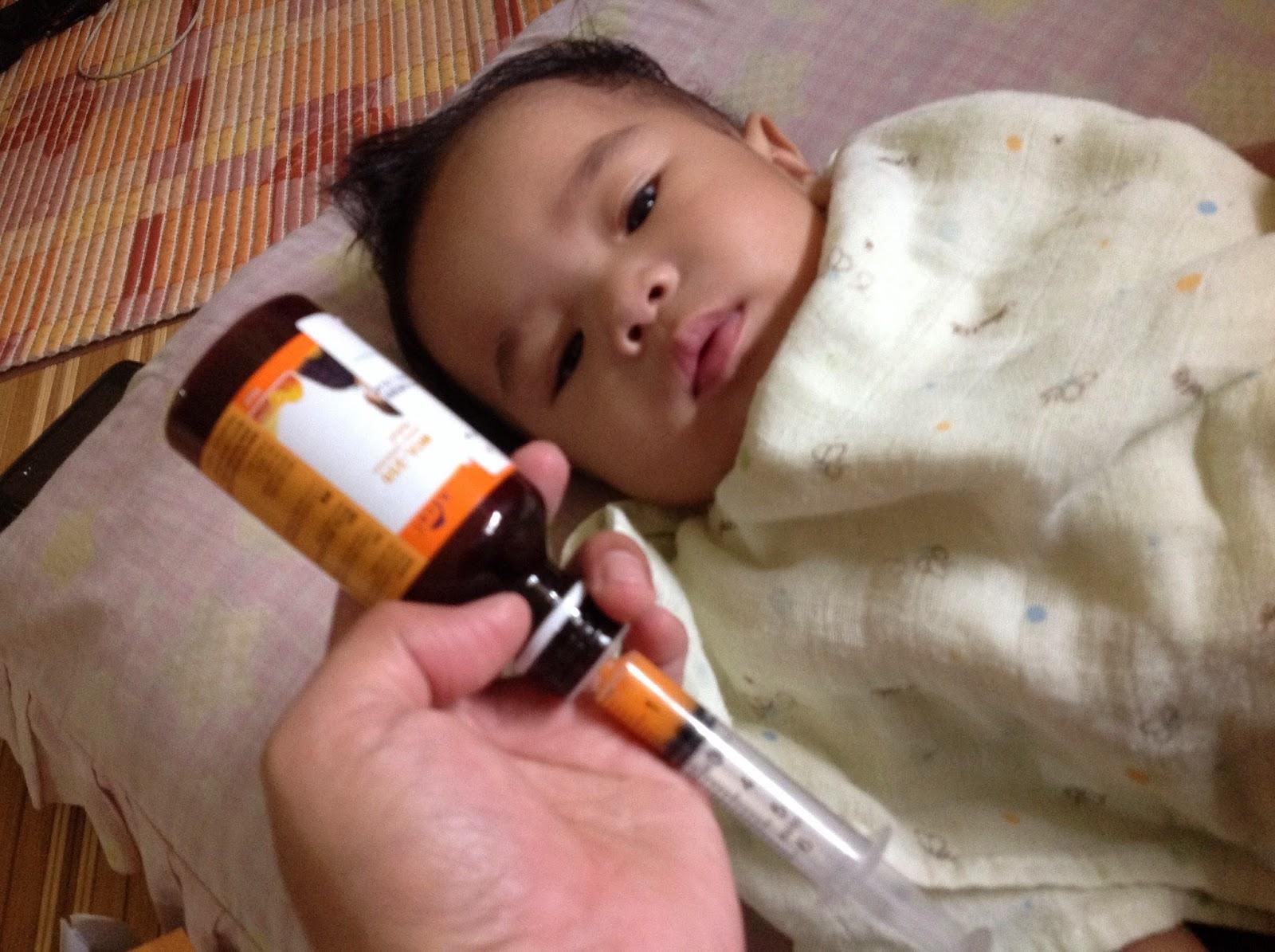 Ubat Baby Demam