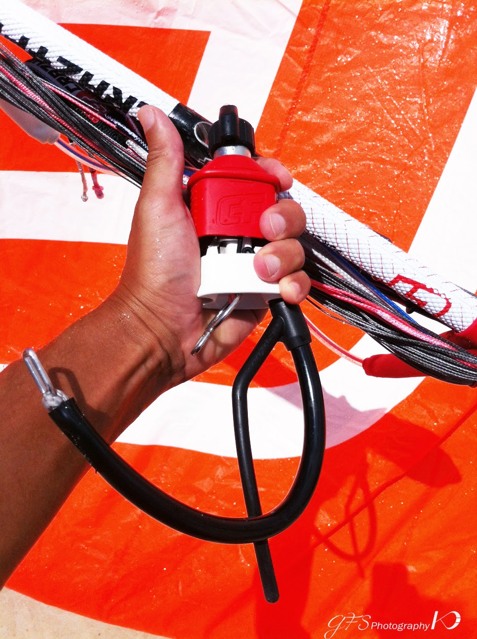 kitesurf kiteboard safety release activation maintenance