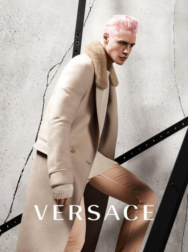 Oliver Stummvoll by Mert Alas & Marcus Piggott for Versace Fall-Winter 2015-2016 | Ses Rêveries