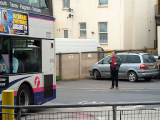 Strange people lurking at Paignton Bus Station