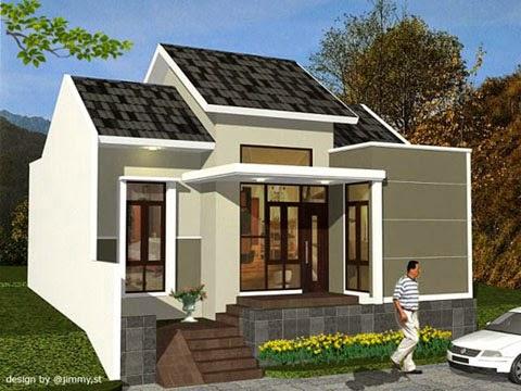 Contoh Desain Rumah Minimalis 02