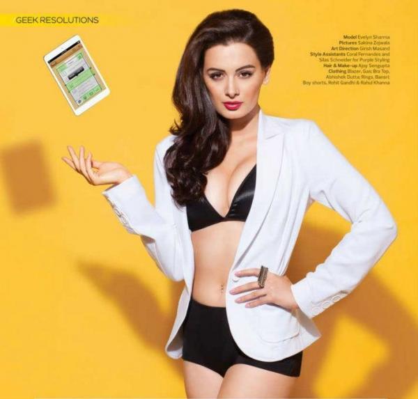 Evelyn sharma hot bikini stills