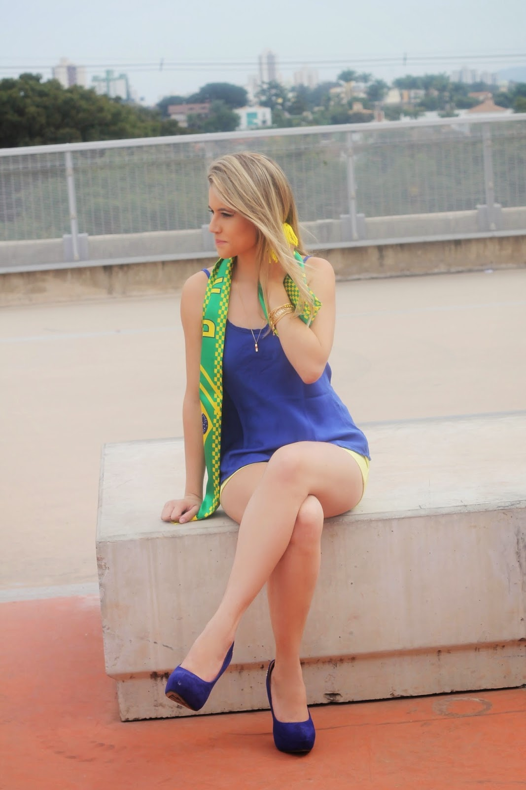 Look do dia Copa - Look do dia Brasil