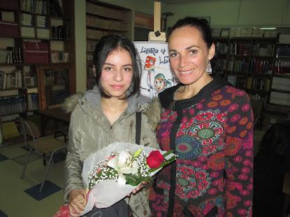 Soprano Javiera Maturana Risso en Día del Libro 2016
