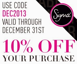 Sigma Beauty 10% off discount code