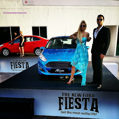 Car models of New Ford Fiesta launch in Taylor's Subang Malaysia