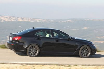 2012 Lexus IS-F Side Angle