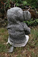 Elefántos kapucnis felső