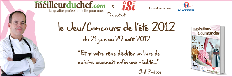 jeu concours le blogs de cuisine. Black Bedroom Furniture Sets. Home Design Ideas