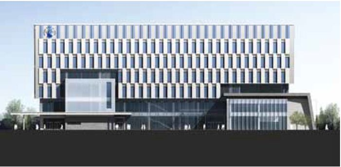 Front Elevation Of Hotel Building : Design building of district court in jinju branch changwon