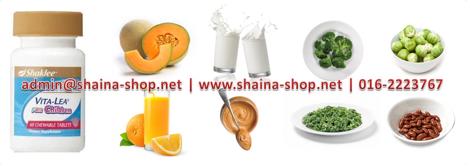 KANDUNGAN NUTRISI DI DALAM VITA-LEA FOR CHILDREN SHAKLEE