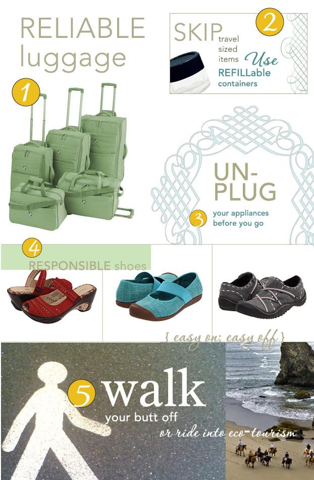eco friendly travel tips
