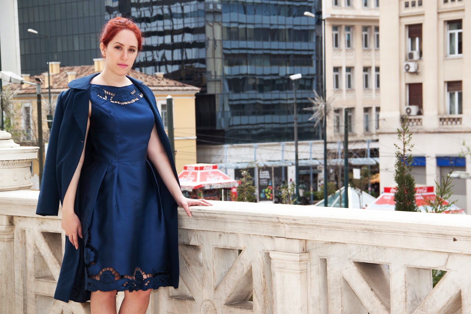 Redhead, spotlights on the redhead, clothes, Anna Keni, Anna, fashion, blogger, fashion blogger, review, dress, model, hot,royals, photoshoot, mini, chichi,chichiClothing, Sun Goes Down,Robin Schulz, blue