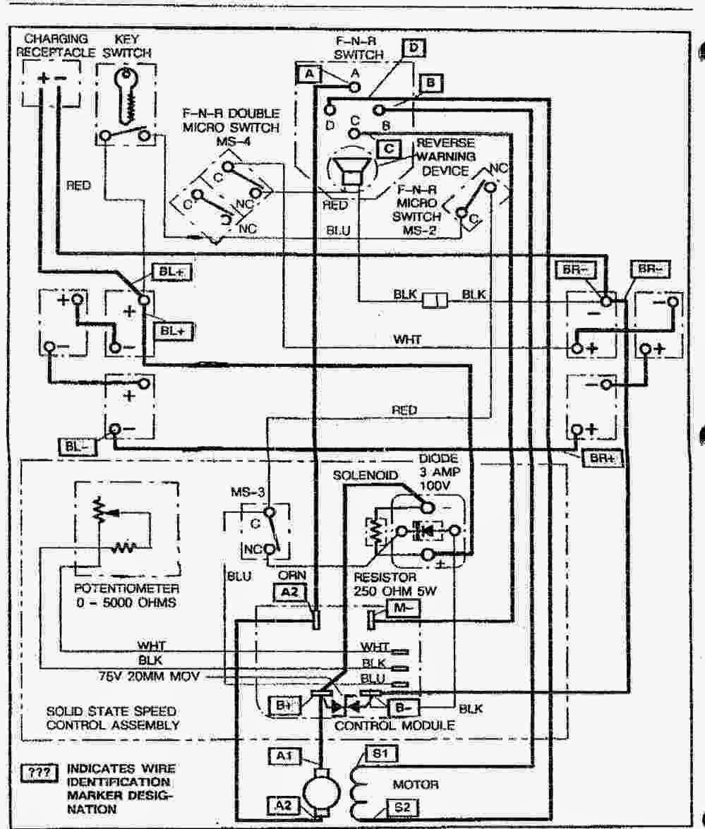 wiring diagram for 2002 ez go mpt 1000 ez go txt wiring
