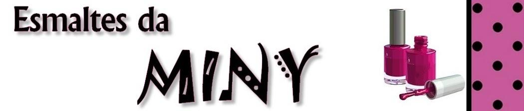 Esmaltes da Miny