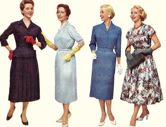 Larssons Blogg Mode 1957