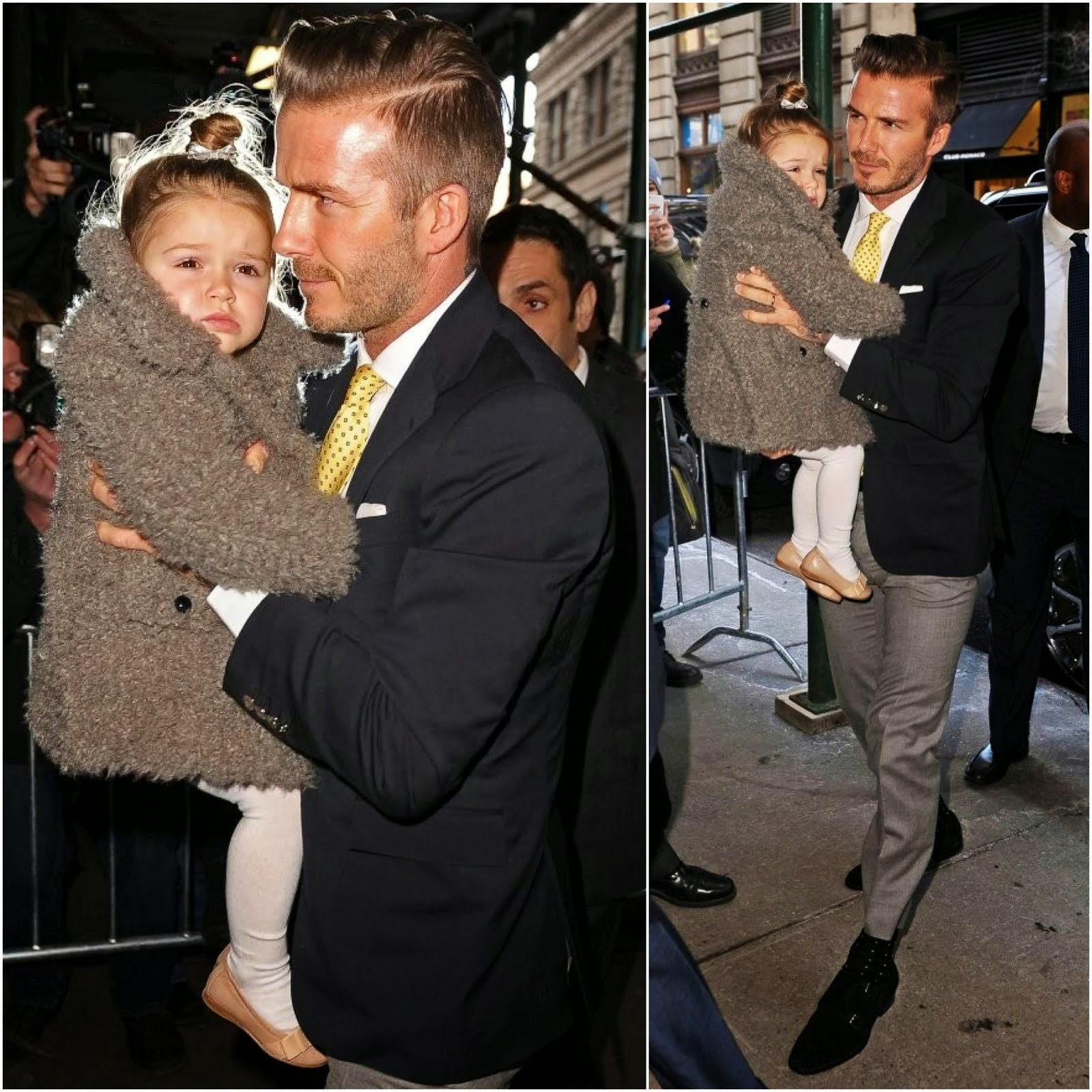 David Beckham in Ralph Lauren - New York Fashion Week
