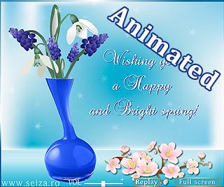 Felicitari animate pentru 1 Martie