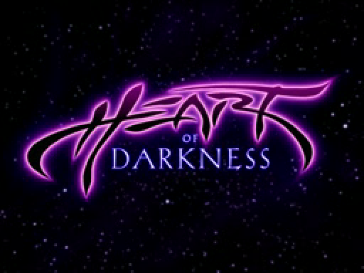 Heart of Darkness playstation title screen