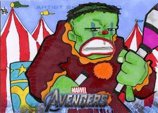 hulk, clown