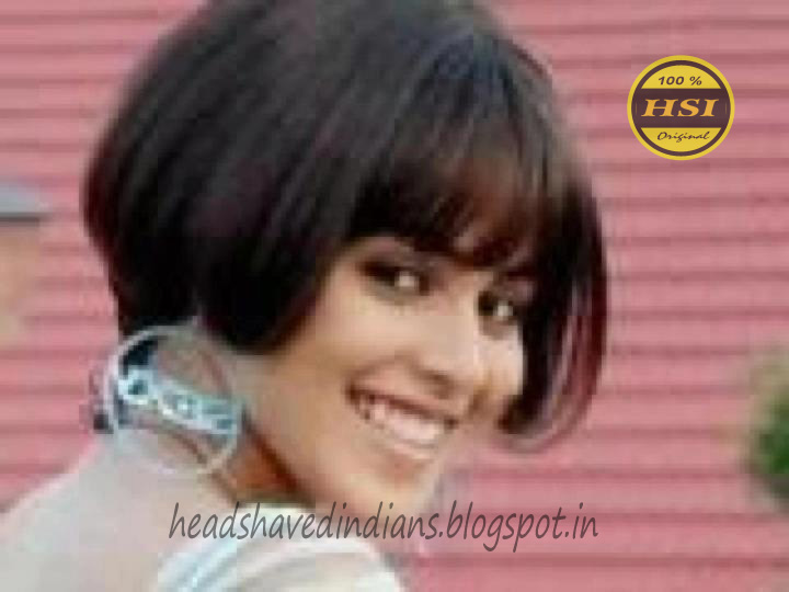 Indian Actress Hairstyles Head Shaved Indians