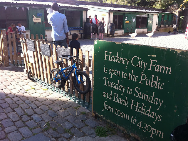 Hackney City Farm London