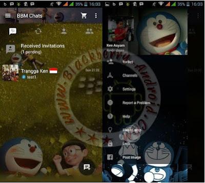 BBM Mod Tema Anime Kartun Doraemon 3D Terbaru v2.10.0.31 Apk