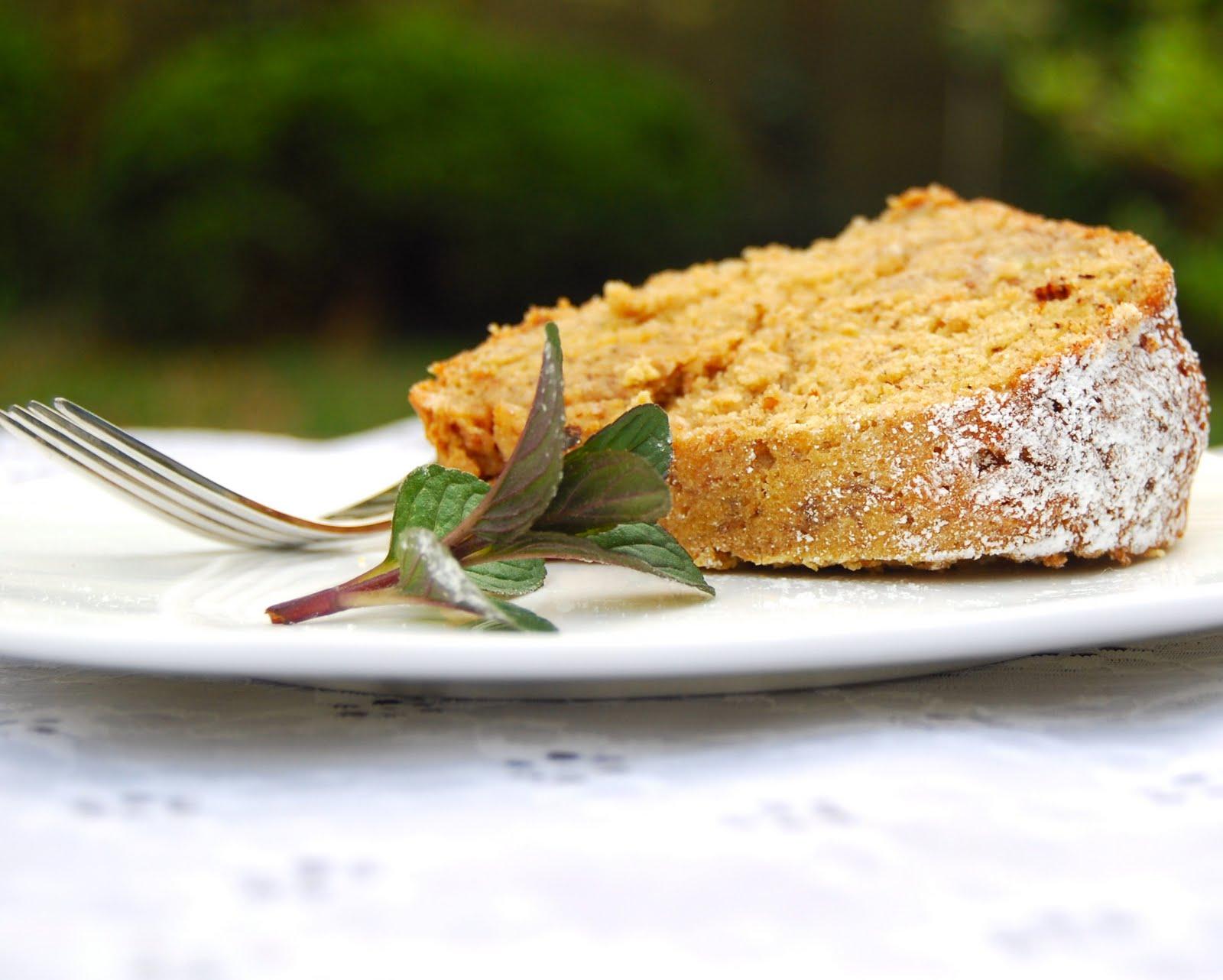 Healthy banana bundt cake recipe