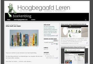 hoogbegaafdleren boekenblog