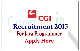 CGI Group Hiring for the post of Java Programmer
