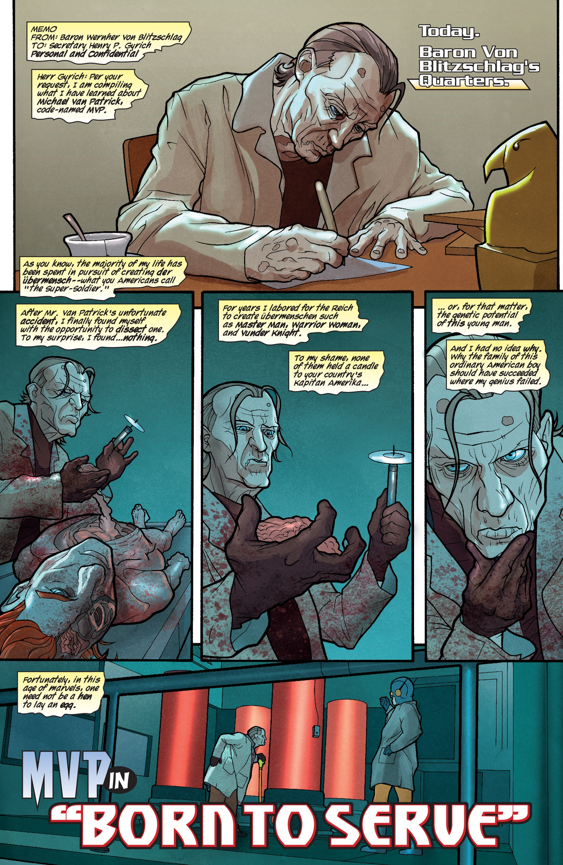 Read online Secret Invasion: The Infiltration comic -  Issue #4 - 25