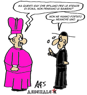 roma pride, satira, vignetta