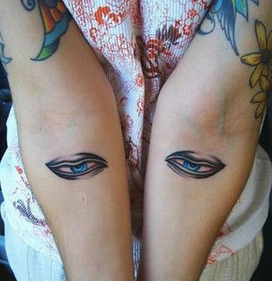 Creepy Eyeball Tattoos Seen On www.coolpicturegallery.us