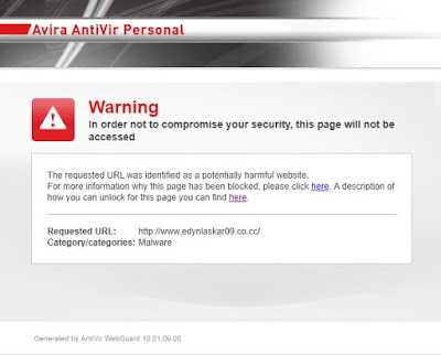 Cara Membuka Situs Yang Diblokir AntiVir WebGuard