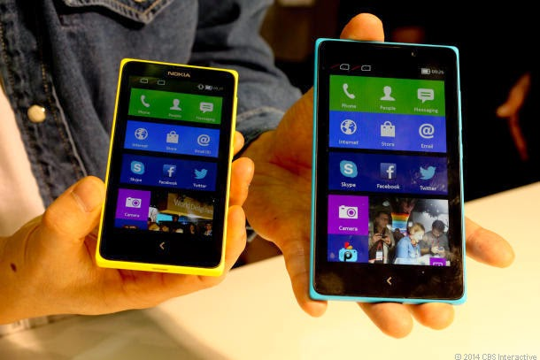 Perbedaan Nokia X dan Nokia XL