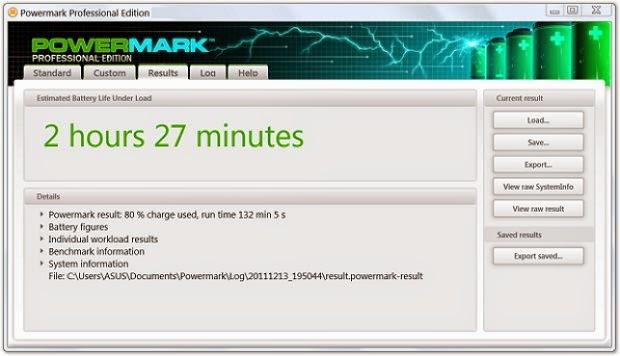 Powermark mede o desempenho da bateria de seu aparelho