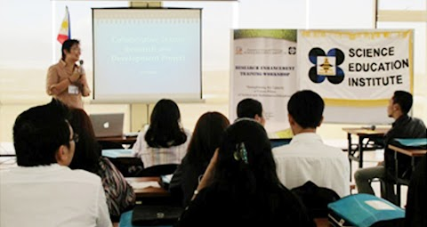 Research enhancement training workshop for COD in teacher education held