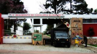 9o Regimento de Cavalaria Blindado, em São Gabriel