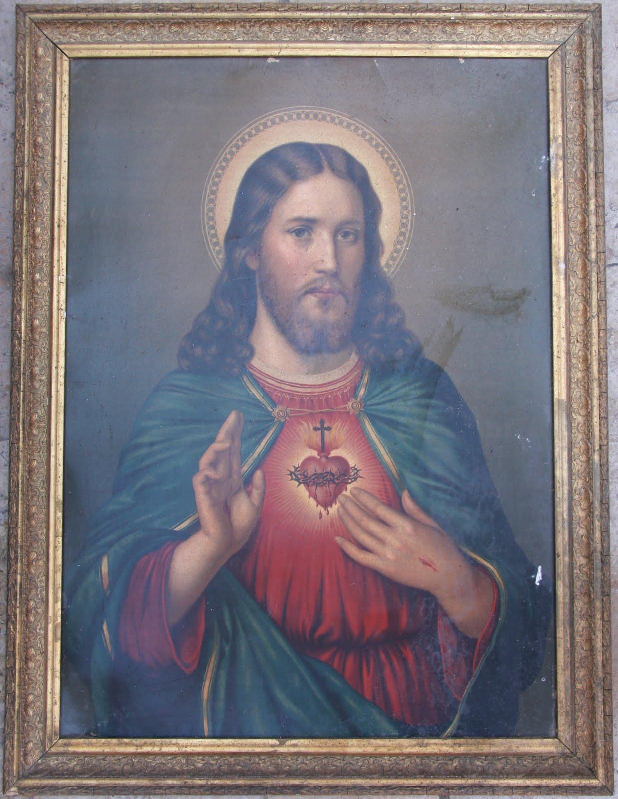 Conservación y Restauración de Obras de Arte : Sagrado corazon ...